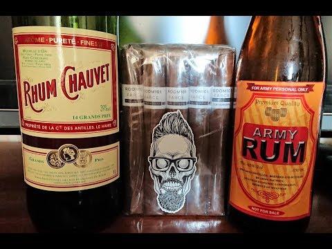 Выпуск 15 Сравнительная дегустация рома Chauvet (Вьетнам) и Army Rum (Бирма).