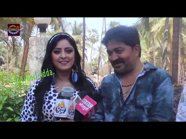 Shubhi Sharma New HOT Song 2019 Making video Deepak Singh