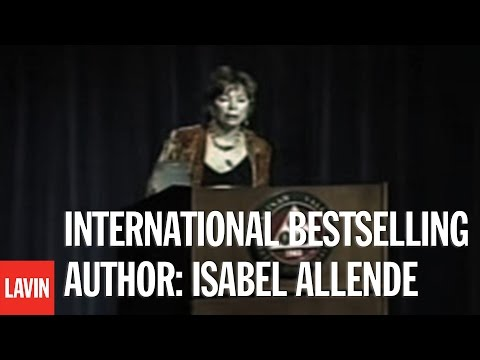 International Bestselling Author: Isabel Allende