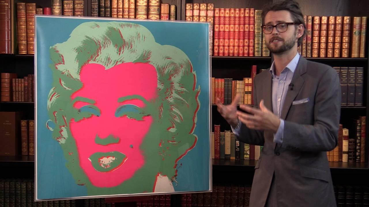 Andy Warhol Marilyn Monroe 1967 Peter Harrington Gallery Youtube