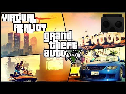 GTA V PC REALIDAD VIRTUAL (VR) GOOGLE CARDBOARD