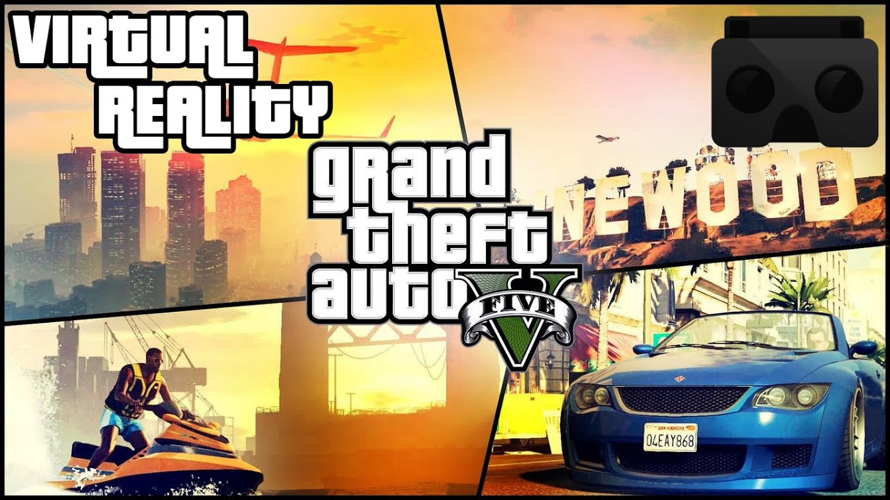 GTA V PC REALIDAD VIRTUAL (VR) GOOGLE CARDBOARD