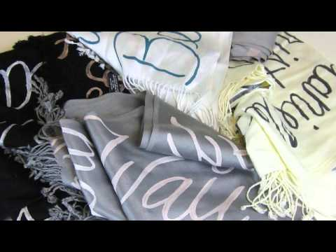 Pashminas and Scarves Artistic Gifts