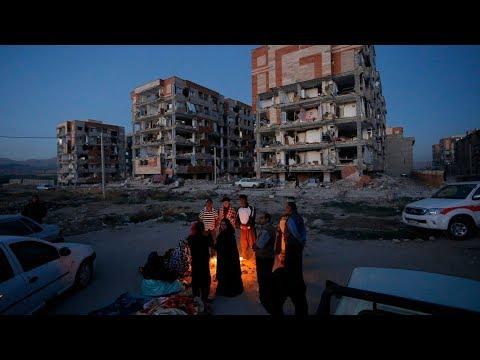 Deadly Earthquake Hits Iran-Iraq Border