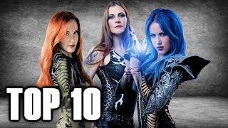 Top 10 METAL FRONTWOMEN 🤘