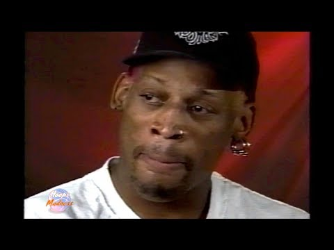 Dennis Rodman Cries and Walk Out of Interview!! You