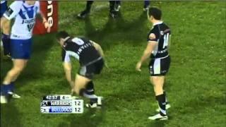 NRL 2011 Round 19 Highlights: Warriors V Bulldogs Top 10 Video