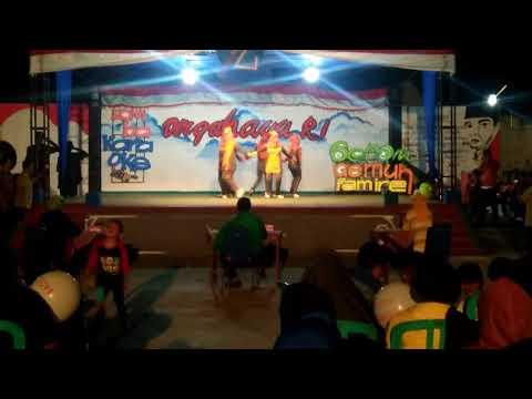 Juara 1 Senam Maumere RT 03, RW 05, Gedongombo, Semanding, Tuban