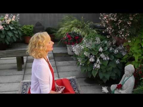 Pop Art meets Buddha at Tibet House US: Hedy Klineman; Buddhas in the Garden
