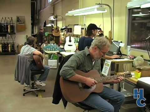 Martin Guitar Factory Tour Part 3 (of 6)