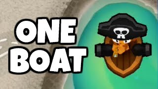 How Long Can You Survive With 1 Buccaneer? (Bloons TD 6)