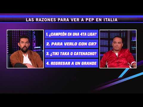 La prensa italiana sueña con Pep Guardiola en la Juventus