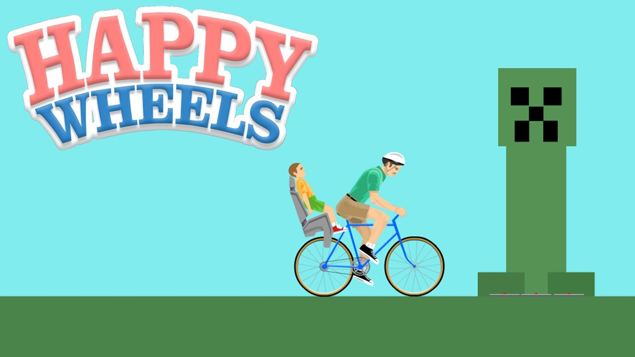 Happy Wheels Minecraft World Youtube