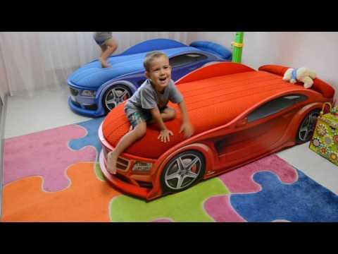 Детская кровать машинка Мерседес красная отзыв Futuka-kids Ru