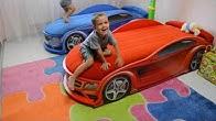 Купить детскую кровать-машину в интернет-магазине, низкие цены на детские кроватки-машинки от производителя. Заказать детскую авто кровать в.