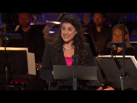Här tar Cecilia Bartoli emot Polarpriset 2016 (Polar Music Prize 2016)