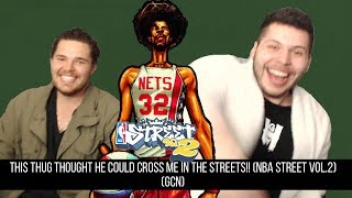 This Thug Thought He Could Cross Me In The Streets!!(NBA Street VOL.2) (GCN)