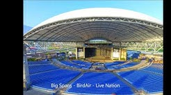 MidFlorida Amphitheatre - Big Spans Structures, Live Nation, BirdAir - New Roof