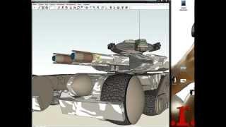 Poser Pro 2012 интеграция моделей из SketchUp 8