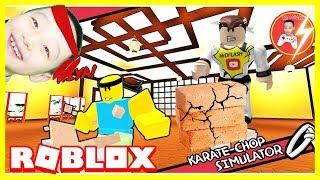 Roblox | MrDFLASH All-in-hand automotive non-#Roblox Karate Chop Simulator | Mr. D-Flash