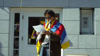 March 10, 2010 Tibetan Uprising in Vermont 2