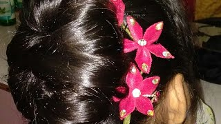 Hairstyle for special occation