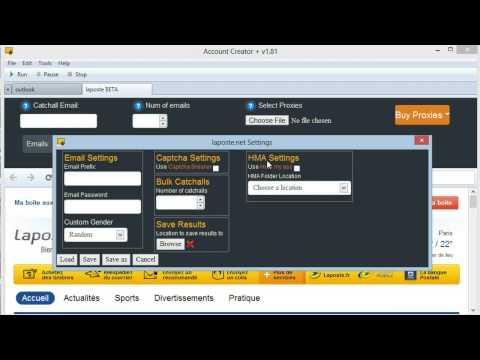 laposte.net BETA Module Walkthrough