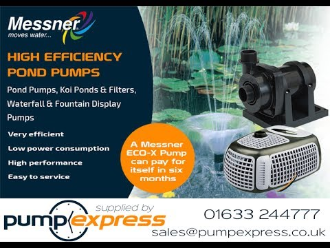 All Pond Solutions ECO Small Water Pump Features 5 Sizes Fountain Pond Pumps