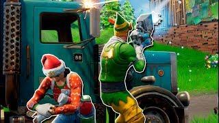 * NEW* CHRISTMAS SKIN!! Advance FortNITE Update: Battle Royale
