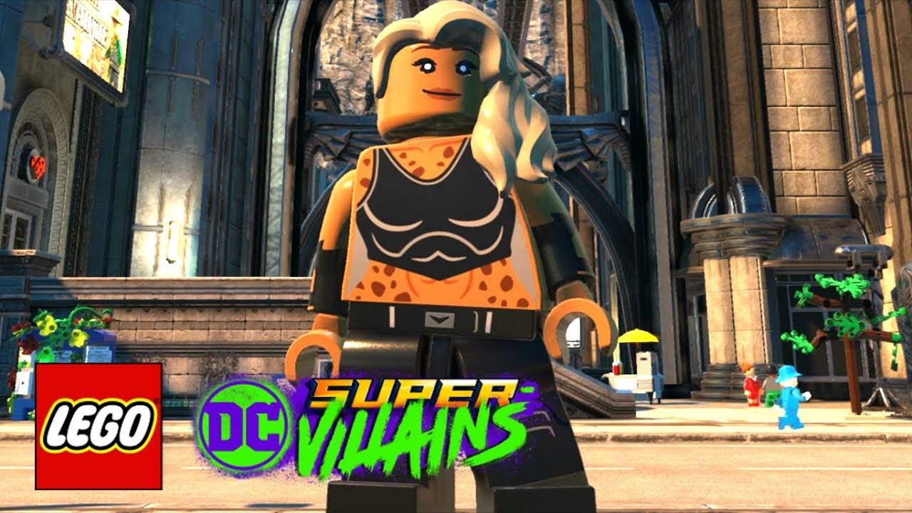 Lego Dc Super Villains How To Make Black Canary Jurnee Smollett Bell Birds Of Prey 2020 Youtube