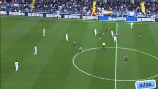 Barcelona rondo vs Malaga