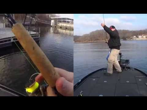 How to shoot docks to catch lots of crappie doovi for Crappie fishing lake of the ozarks