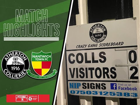 Atherton Nantwich Goals And Highlights