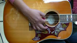Gibson hummingbird 14年製 ギブソン ハミングバード ギブソン 検索動画 6