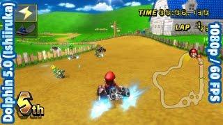 Mario Kart Wii | Dolphin Emulator 5.0 (Ishiiruka) [1080p@60fps HD] | Nintendo Wii