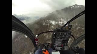 Schweizer 300C - Confined area landing