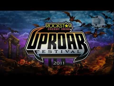2011 Rockstar Energy Drink UPROAR Festival Lineup