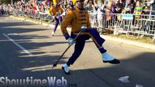 alcorn state marching band stay 2017 mardi gras parade