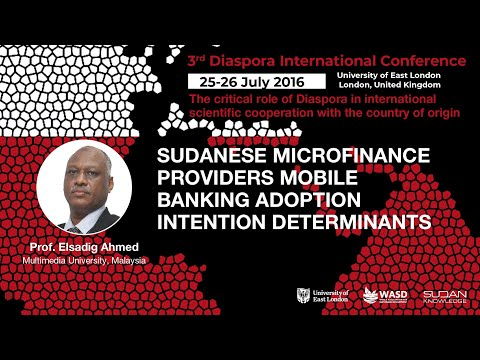 Sudanese microfinance providers mobile banking adoption intention determinants