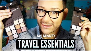 Must Have Travel Essential Eyeshadow Palettes & Makeup Brushes | mathias4makeup