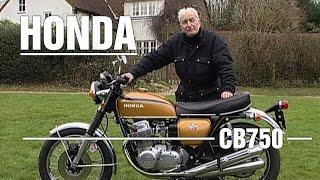 Honda CB750 Four 1975 750cc Bike Review