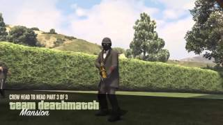GTA V CREW BATTLE MNTR MTOF vs BROS 2vs2 NR HD