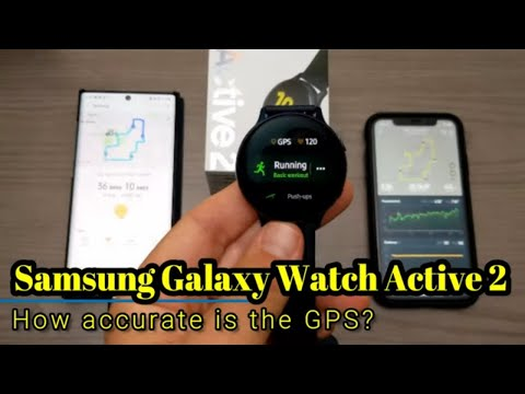 Samsung Galaxy Watch Active 2 - How Accurate Is The GPS/Heart Rate?