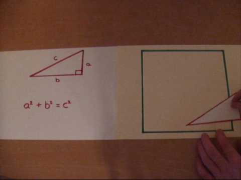 How to prove Pythagoras's Theorem in under 1 minute.