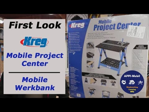 Kurzvorstellung I First Look KREG mobile Werkbank - mobile project center