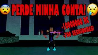 (ROBLOX) Ro-ghoul: PERDI MINHA CONTA DO ROBLOX! -LVL1000 -10M DE RC! #NARUTO10K!
