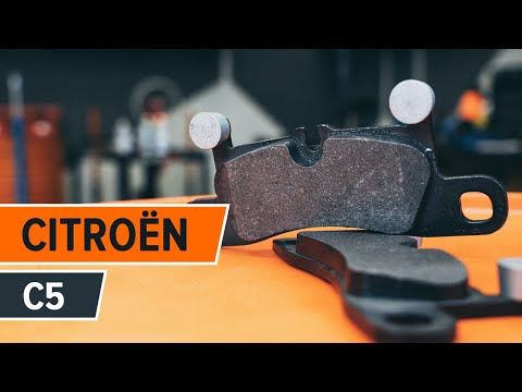 How to replace front brake pads on CITROËN C5 TUTORIAL | AUTODOC