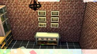 Sims 4 Let's Build: Industrial Kitchen