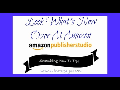 How To Use Amazon Publisher Studio