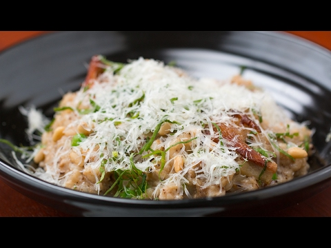 Mushroom Risotto As Made By Chef Marcel Vigneron